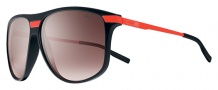 Nike MDL. 250 EV0730 Sunglasses Sunglasses - 085 Matte Black / Orange / Mauve Gradient