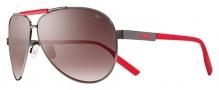 Nike MDL. 260 EV0732 Sunglasses Sunglasses - 965 Gunmetal / Hyper Red / Mauve Gradient Lens