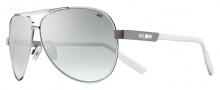 Nike MDL. 260 EV0732 Sunglasses Sunglasses - 010 Silver / White /  Smoke Gradient Lens