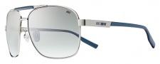 Nike MDL. 265 EV0733 Sunglasses Sunglasses - 042 Silver / Squadron Blue / Smoke Gradient Lens