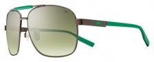 Nike MDL. 265 EV0733 Sunglasses Sunglasses - 233 Walnut / Pine Green / Green Gradient Lens