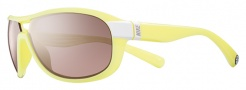 Nike Miler E EV0614 Sunglasses Sunglasses - 176 White / Electric Yellow