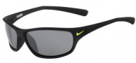 Nike Rabid EV0603 Sunglasses Sunglasses - 007 Matte Black / Grey Silver Flash Lens