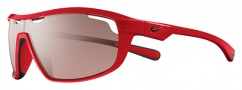 Nike Road Machine E EV0705 Sunglasses Sunglasses - 606 Hyper Red / Matte Black / Max Speed Tint Lens