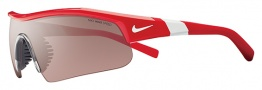 Nike Show X1 Pro EV0645 Sunglasses Sunglasses - 616 Hyper Red / White / Max Speed Tint / Grey