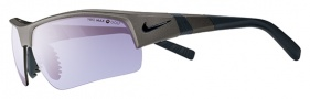 Nike Show X2 Pro PH EV0697 Sunglasses Sunglasses - 032 Metallic Pewter / Max Transition Golf Tint Lens