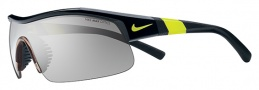 Nike Show X1 EV0617 Sunglasses Sunglasses - 007 Black / Voltage / Grey with Silver Outdoor Flash Lens