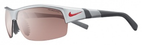 Nike Show X2 E EV0621 Sunglasses Sunglasses - 506 Matte Platinum / Dark Grey / Max Speed Tint