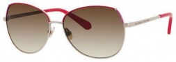 Kate Spade Candida/S Sunglasses Sunglasses - Gold Red Pink