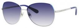 Kate Spade Candida/S Sunglasses Sunglasses - Silver Blue Turquoise