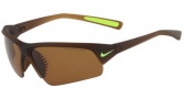 Nike Skylon Ace Pro P EV0686 Sunglasses Sunglasses - 284 Matte Crystal Brown / Brown Polarized Lens