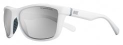 Nike Swag P EV0654 Sunglasses Sunglasses - 101 White / Grey Polarized Lens