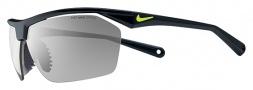 Nike Tailwind 12 EV0657 Sunglasses Sunglasses - 007 Black / Grey Silver Lens