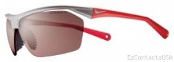 Nike Tailwind 12 PH EV0713 Sunglasses Sunglasses - 656 Matte Platinum / Red