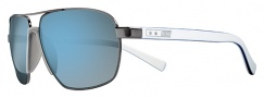 Nike Vintage MDL. 100 EV0691 Sunglasses Sunglasses - 002 Midnight Fog / Super Blue Flash Lens