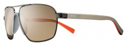 Nike Vintage MDL. 100 EV0691 Sunglasses Sunglasses - 202 Smoke / Brown Lens