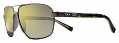 Nike Vintage MDL. 100 EV0691 Sunglasses Sunglasses - 277 Matte Dark Brown / Yellow Flash Lens