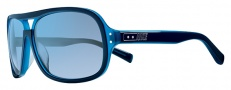 Nike Vintage MDL. 97 EV0688 Sunglasses Sunglasses - 400 Blue Azure / Blue Flash Lens