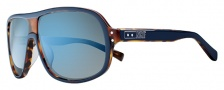 Nike Vintage MDL. 96 EV0687 Sunglasses Sunglasses - 424 Blue / Tortoise / Grey with Blue Sky Flash Lens