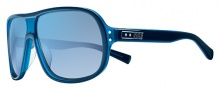 Nike Vintage MDL. 96 EV0687 Sunglasses Sunglasses - 400 Blue Azure / Blue Flash Lens