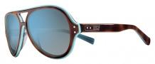 Nike Vintage MDL. 98 EV0689 Sunglasses Sunglasses - 204 Tortoise / Light Blue / Grey with Spring Blue Flash Lens