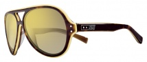 Nike Vintage MDL. 98 EV0689 Sunglasses Sunglasses - 207 Tortoise / Yellow / Grey with Gold Lens