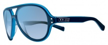 Nike Vintage MDL. 98 EV0689 Sunglasses Sunglasses - 400 Blue Azure / Blue Flash Lens