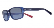 Nike Vintage 87 EV0639 Sunglasses Sunglasses - 407 Layered Blue / Grey with Blue Flash Lens