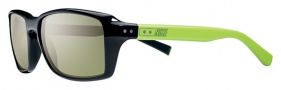 Nike Vintage 87 EV0639 Sunglasses Sunglasses - 033 Black / Cactus / Green Lens