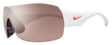 Nike Vomero 12 EV0694 Sunglasses Sunglasses - 166 White / Total Crimson / Speed Tint Lens