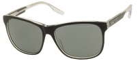 Nike MDL. 290 EV0745 Sunglasses Sunglasses - 001 Black / Crystal Clear with Grey Lens