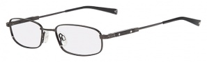 Flexon FL525 Eyeglasses Eyeglasses - 001 Black Chrome