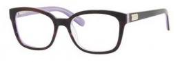 Kate Spade Janetta Eyeglasses Eyeglasses - 0X31 Plum Tortoise Purple