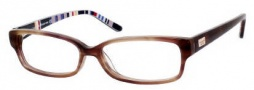 Kate Spade Lorelei Eyeglasses Eyeglasses - 0X23 Toffee Striped