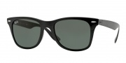 Ray Ban RB4195 Sunglasses Sunglasses - 601/71 Black / Green Lenses