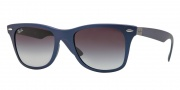 Ray Ban RB4195 Sunglasses Sunglasses - 60158G Blue / Grey Gradient Lenses