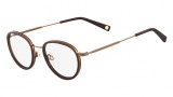 Flexon Hampton Eyeglasses Eyeglasses - 210 Brown / Crystal Antique