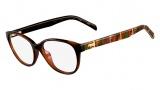 Fendi F1025 Eyeglasses Eyeglasses - 214 Classica Havana