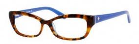 Kate Spade Catalina Eyeglasses Eyeglasses - 0FN8 Havana Blue