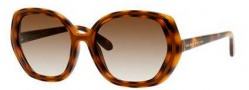 Kate Spade Dafina/S Sunglasses Sunglasses - 0V08 Dark Tortoise (Y6 Brown Gradient Lens)