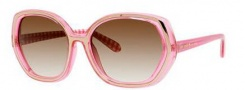 Kate Spade Dafina/S Sunglasses Sunglasses - 0X63 Pink Gingham (Y6 Brown Gradient Lens)