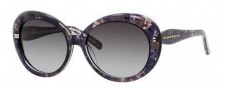 Kate Spade Doriane/S Sunglasses Sunglasses - 0JCZ Black Watercolor (Y7 Gray Gradient Lens)