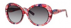 Kate Spade Doriane/S Sunglasses Sunglasses - 0JFC Pink Watercolor (Y7 Gray Gradient Lens)