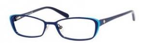 Kate Spade Lidia Eyeglasses Eyeglasses - 0JNA Navy Turquoise