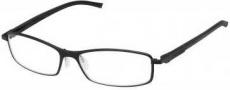 Tag Heuer Automatic 0804 Eyeglasses Eyeglasses - 001 Black - Black Temple / Matte Black Front