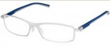Tag Heuer Automatic 0804 Eyeglasses Eyeglasses - 004 Smart Blue - Light Grey Temple / Pure Front