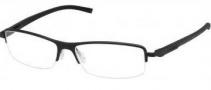 Tag Heuer Automatic 0825 Eyeglasses Eyeglasses - 001 Matte Black Front / Black - Black Temples