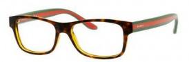 Gucci GG 1046 Eyeglasses Eyeglasses - 0CUK Havana