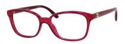 Gucci GG 3629 Eyeglasses Eyeglasses - 0DXL Red Opal