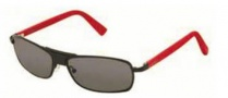 Tag Heuer Senna 0982 Sunglasses Sunglasses - 102 Red - Black Temple / Grey Outdoor Lens